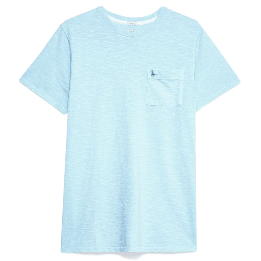 JACK WILLS Men's Ayleford Garment Dye Short-Sleeve Tee XS