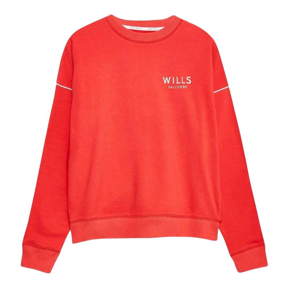 JACK WILLS Women's Cleevedale Crew Neck Sweatshirt 2