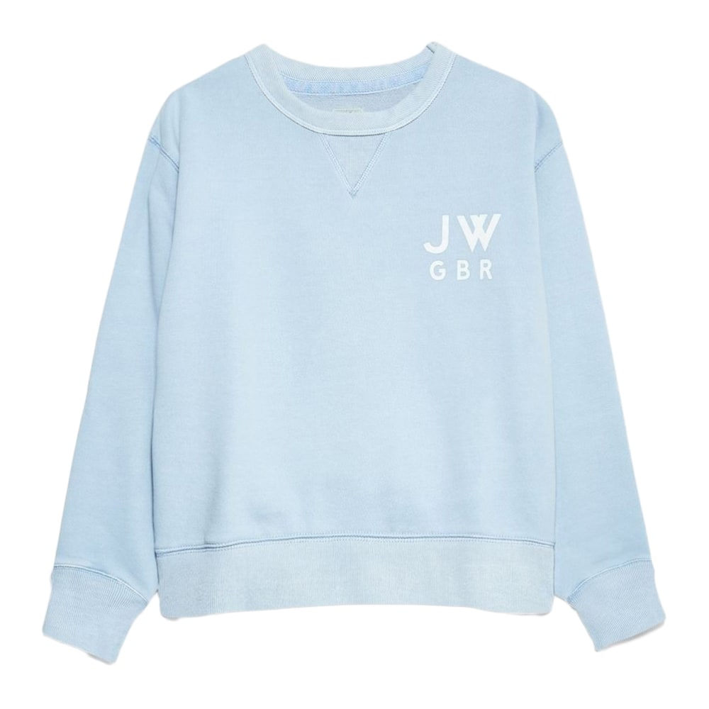JACK WILLS Women's Wills Kempson Garment Dye Cropped Crewneck Sweatshirt 2