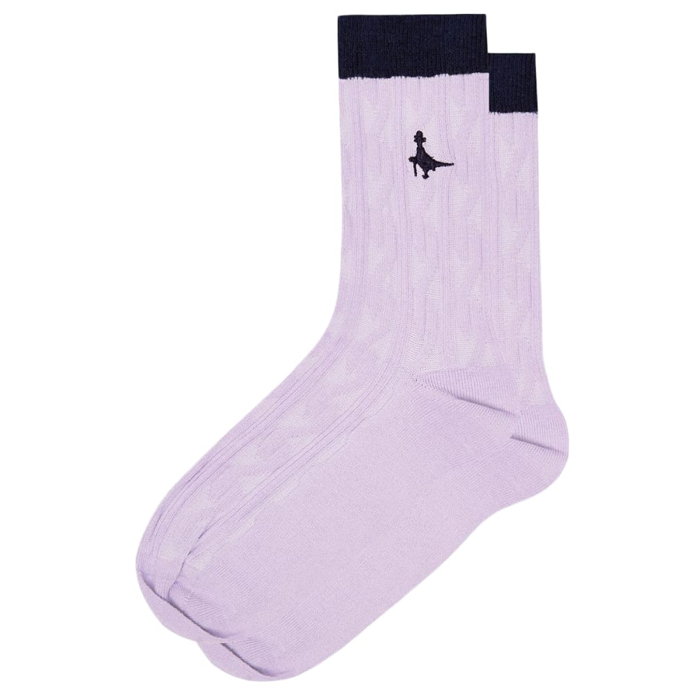 JACK WILLS Women's Ipstones Cable Ankle Socks ONE SIZE