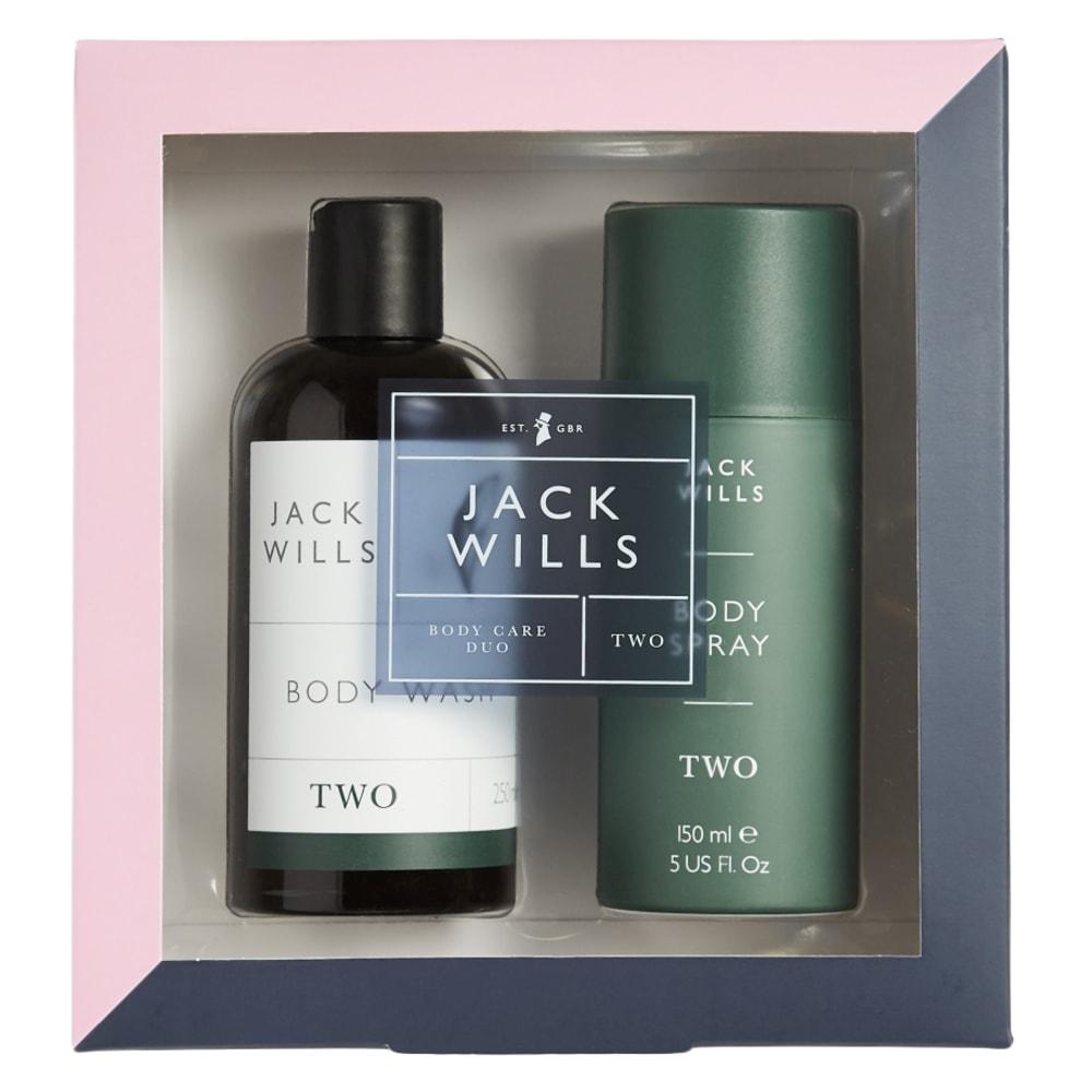 "JACK WILLS ""TWO"" Fragrance Body Wash Set ONE SIZE"