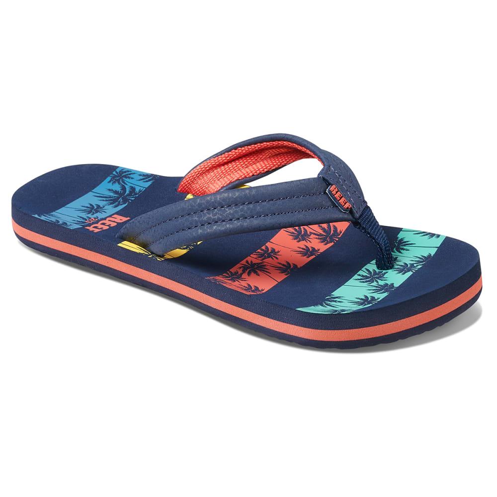 REEF Kids' Little Ahi Sandals 4/5