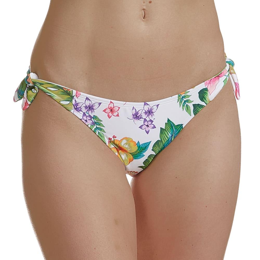INDIGO REIN Junior's Tropical Print Swim Bottoms S