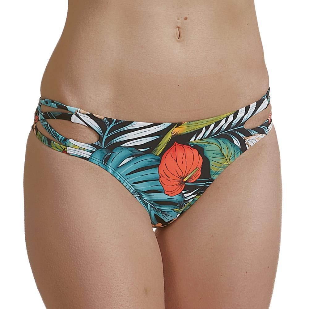 INDIGO REIN Junior's Tropics Party Print Swim Bottoms S