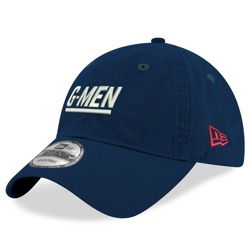 NEW YORK GIANTS Men's Elemental 9TWENTY Adjustable Hat ONE SIZE