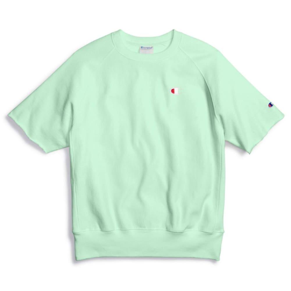 CHAMPION Men's Reverse Weave Short-Sleeve Crewneck Shirt S