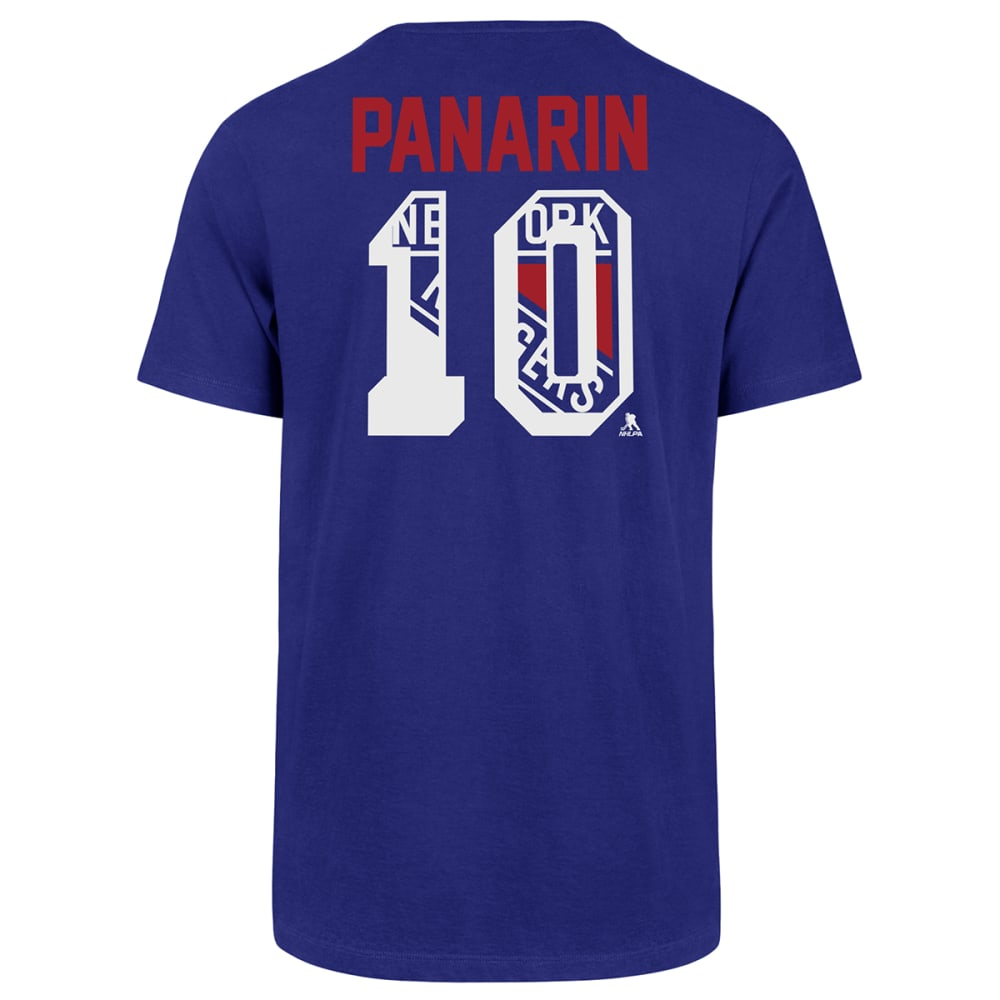 NEW YORK RANGERS Men's '47 Artemi Panarin Name and Number Tee M