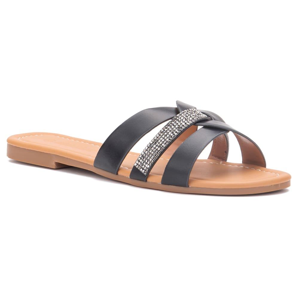 OLIVIA MILLER Girls' Bottoms Up Sandal 6