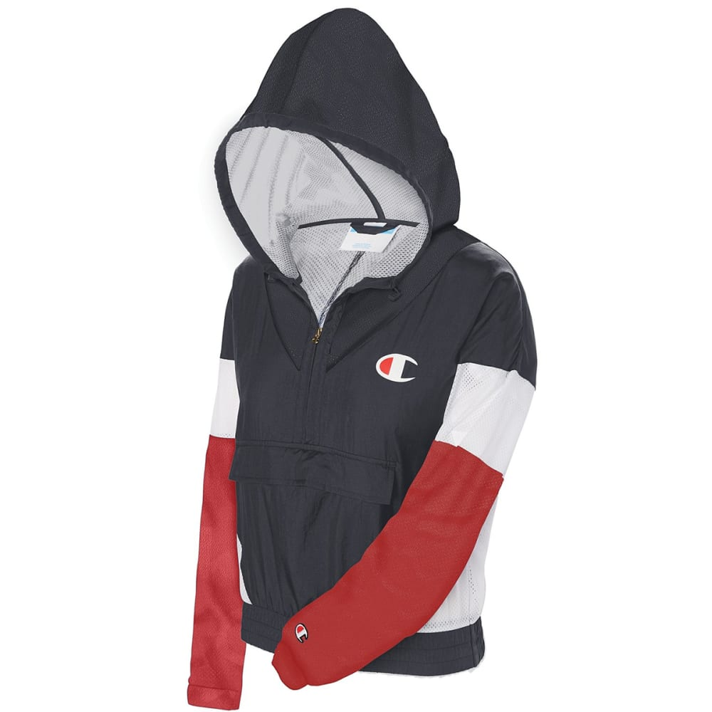 CHAMPION Women's Nylon Warm Up Jacket XS