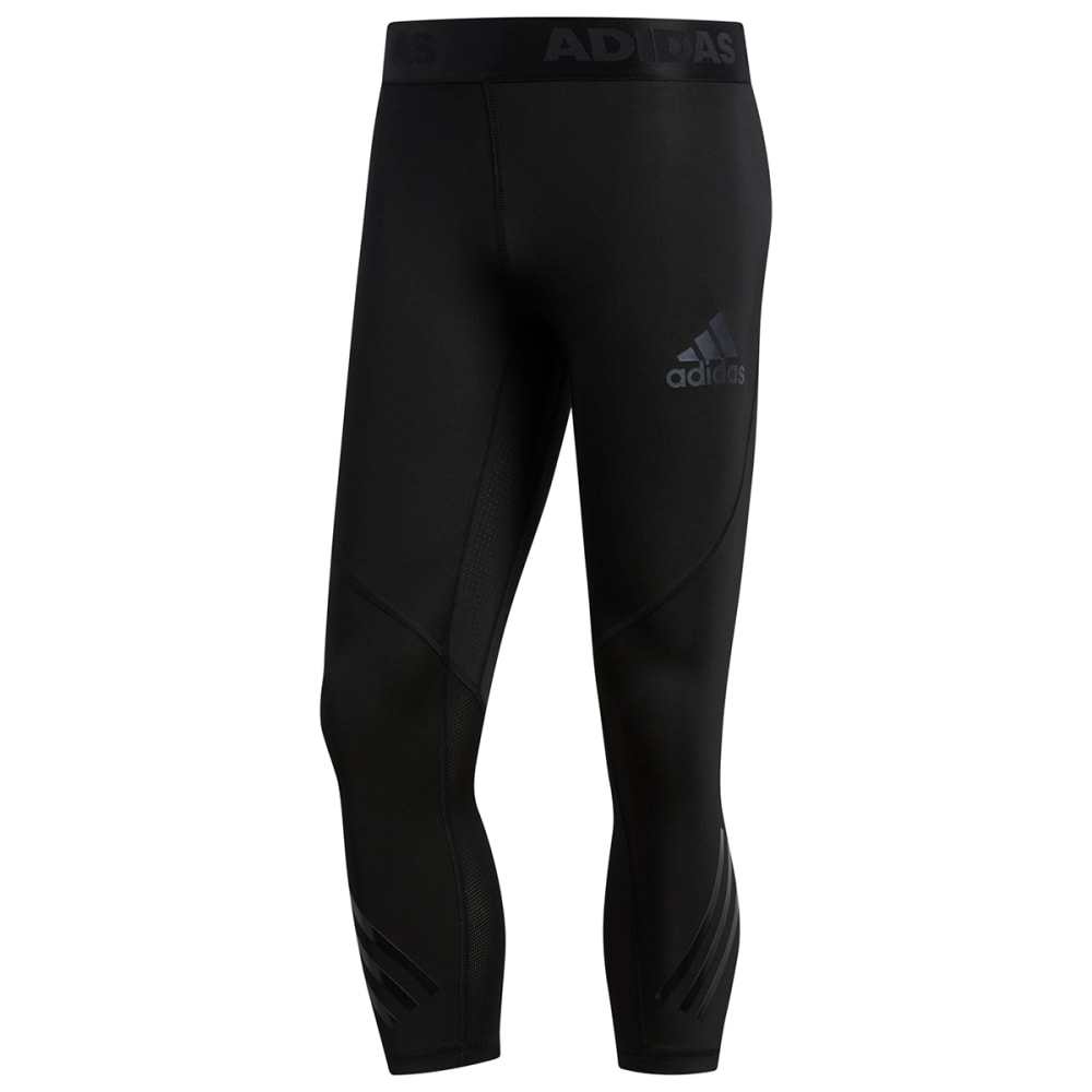 ADIDAS Men's Alphaskin Sport 3/4-Length Tights S