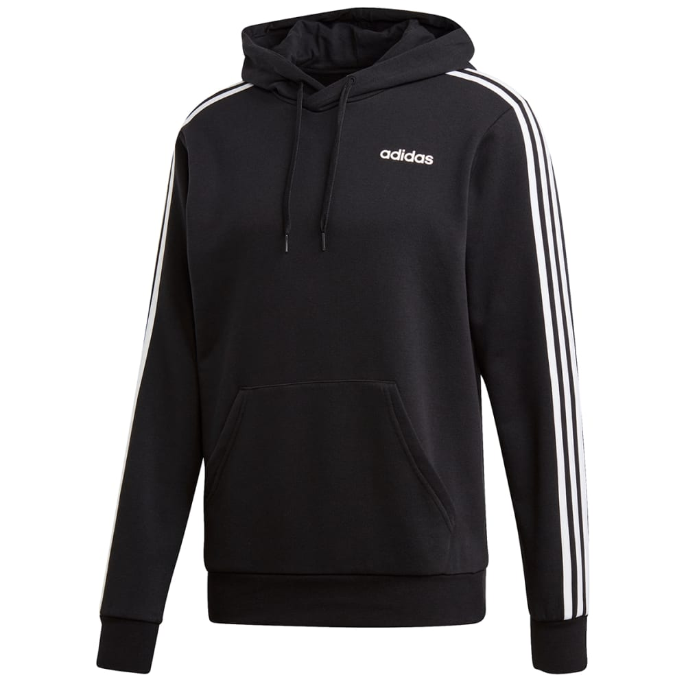 ADIDAS Men's Essentials 3-Stripe Pullover Hoodie S