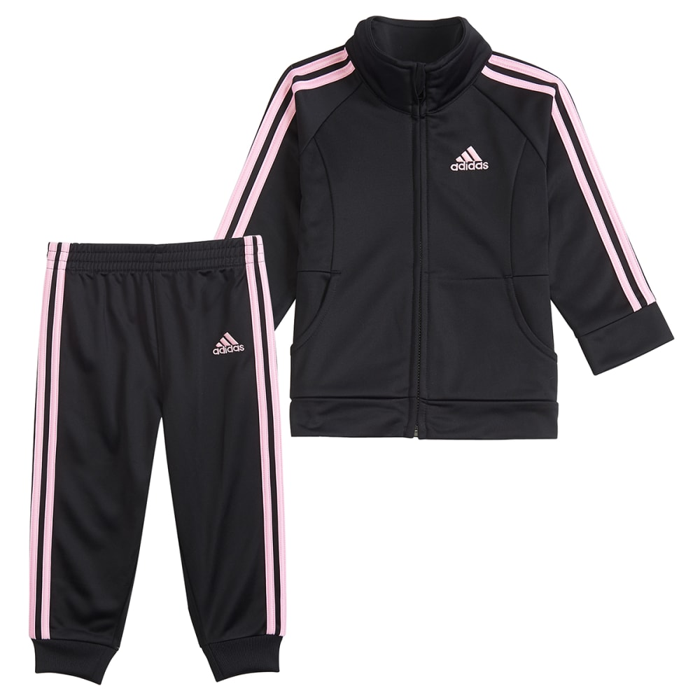 ADIDAS Little Girls' Classic Tricot 2-Piece Track Suit Set 6X