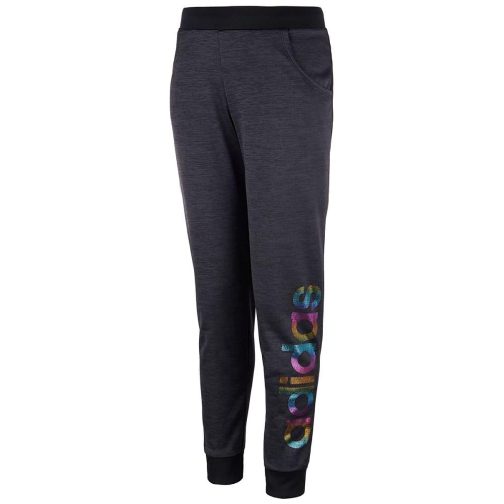 ADIDAS Girls' Fleece Jogger Pants S