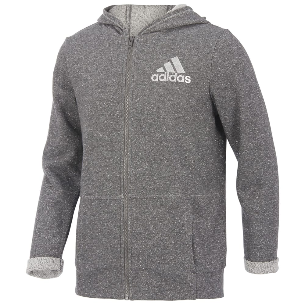 ADIDAS Girls'  Everyday Sparkle Jacket S
