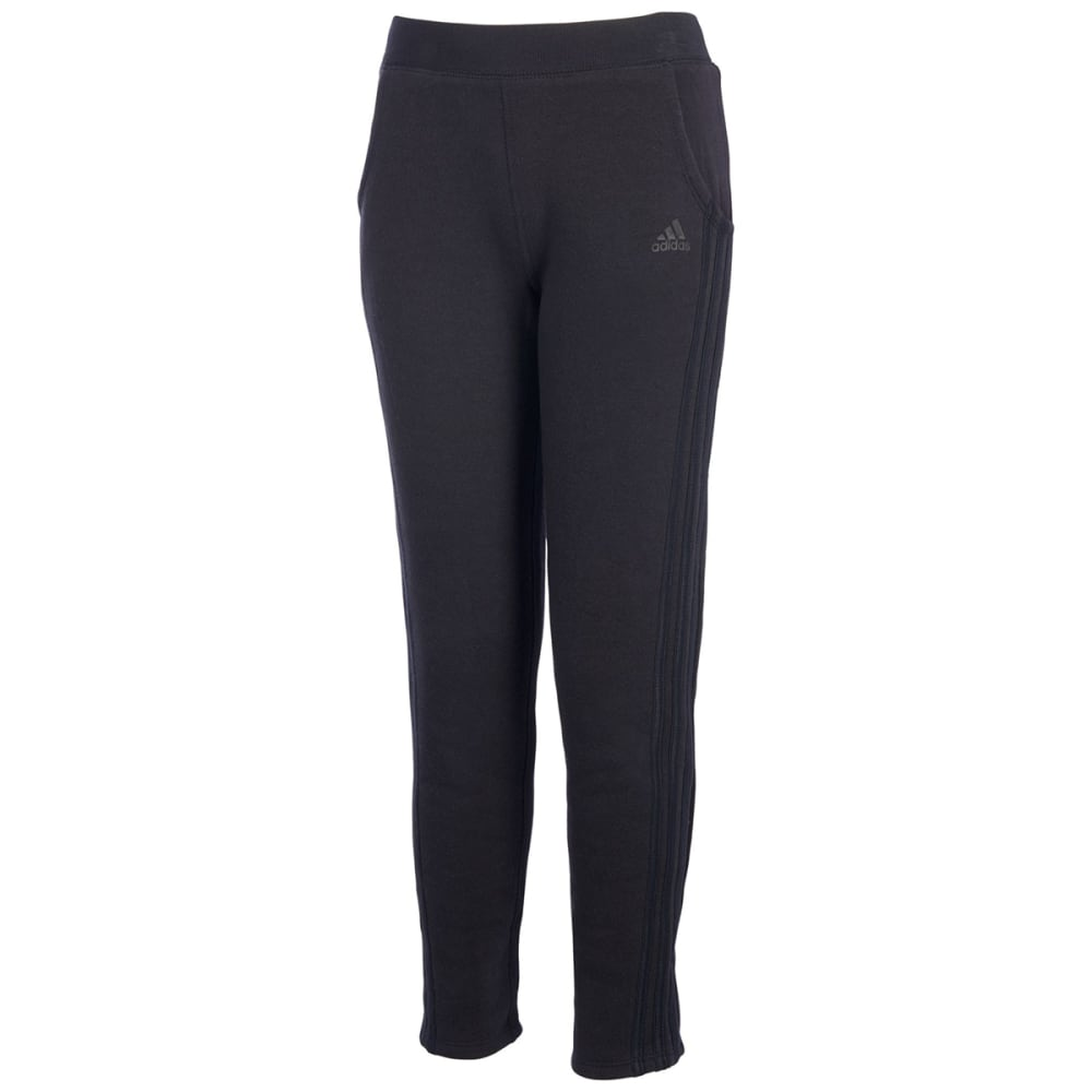 ADIDAS Girls' Fleece Tapered Pants S