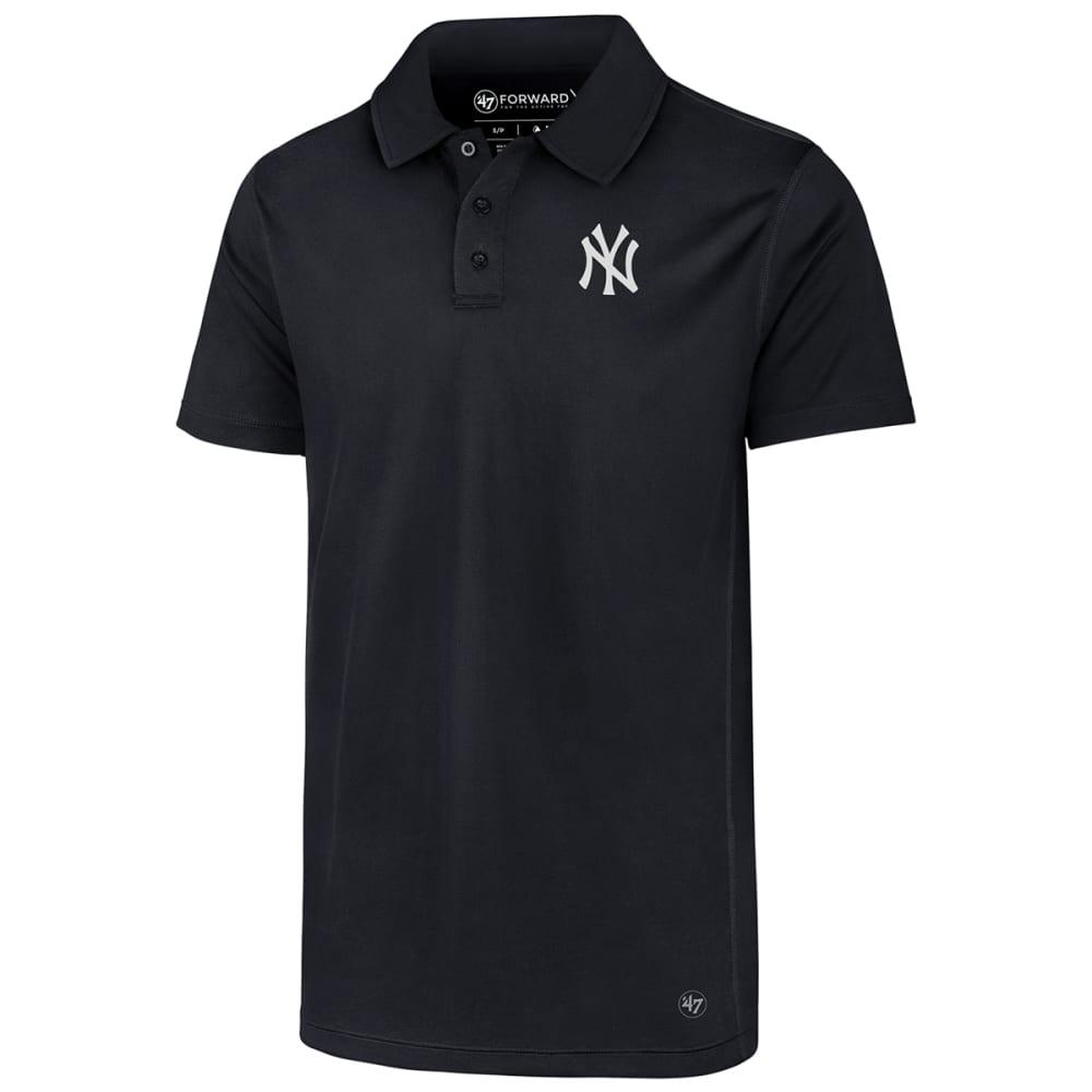 NEW YORK YANKEES Men's '47 Ace Short-Sleeve Polo M