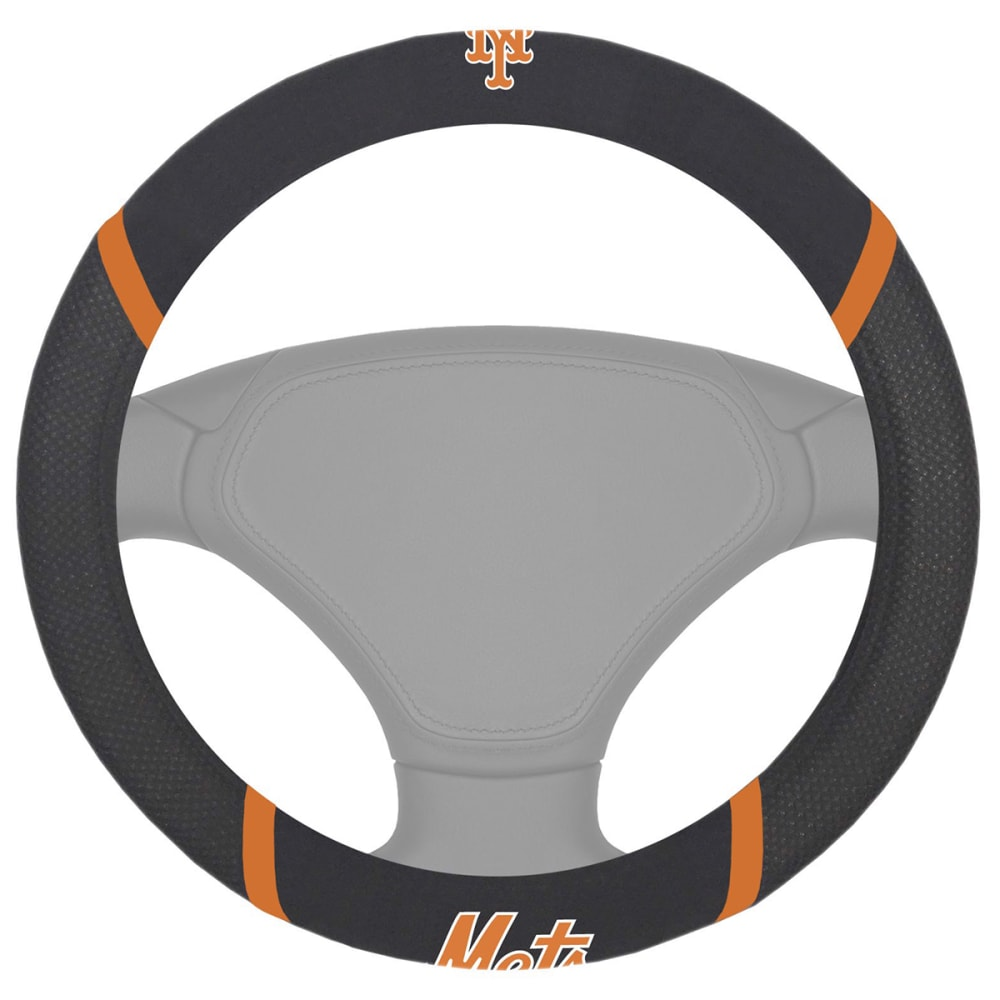 NEW YORK METS Fanmats MLB Steering Wheel Cover ONE SIZE