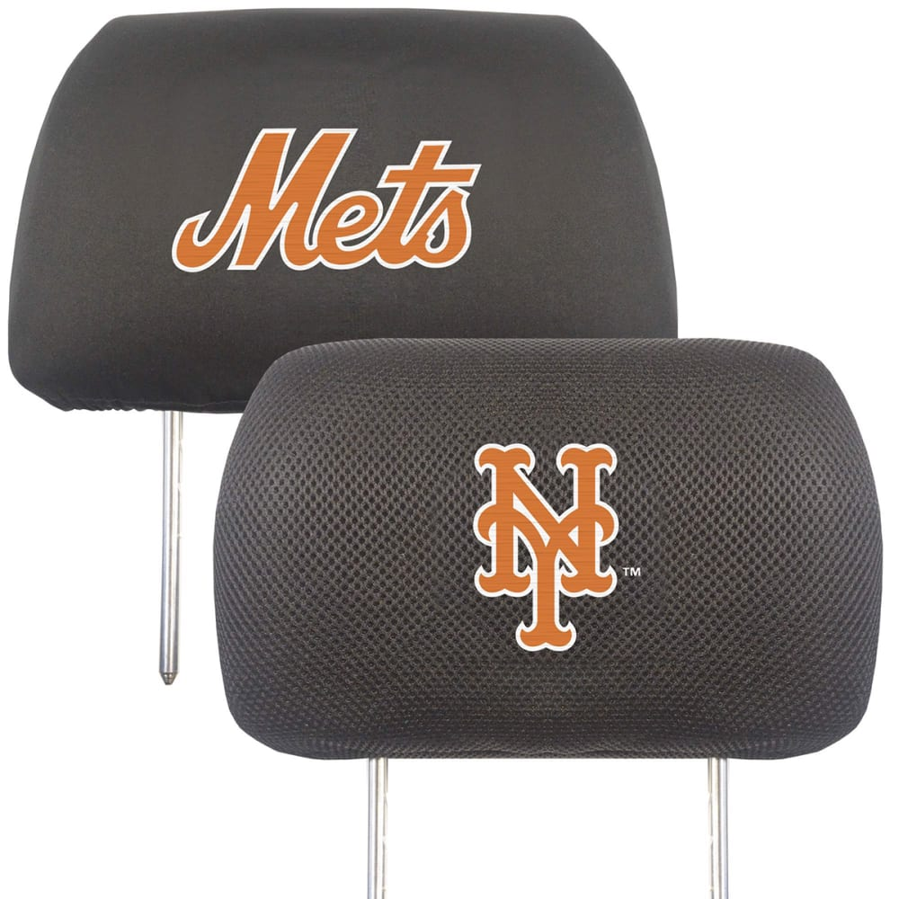 NEW YORK METS Fanmats MLB Headrest Covers ONE SIZE