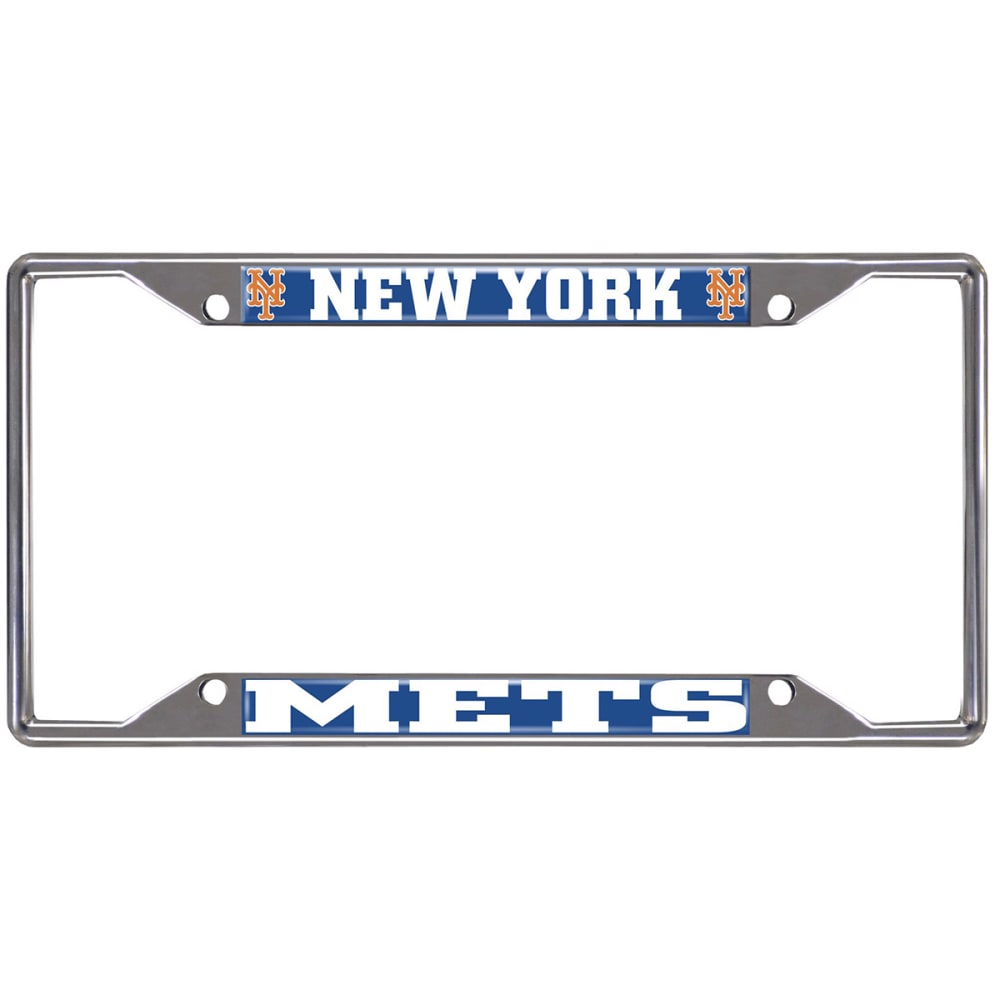 NEW YORK METS Fanmats MLB License Plate Frame ONE SIZE