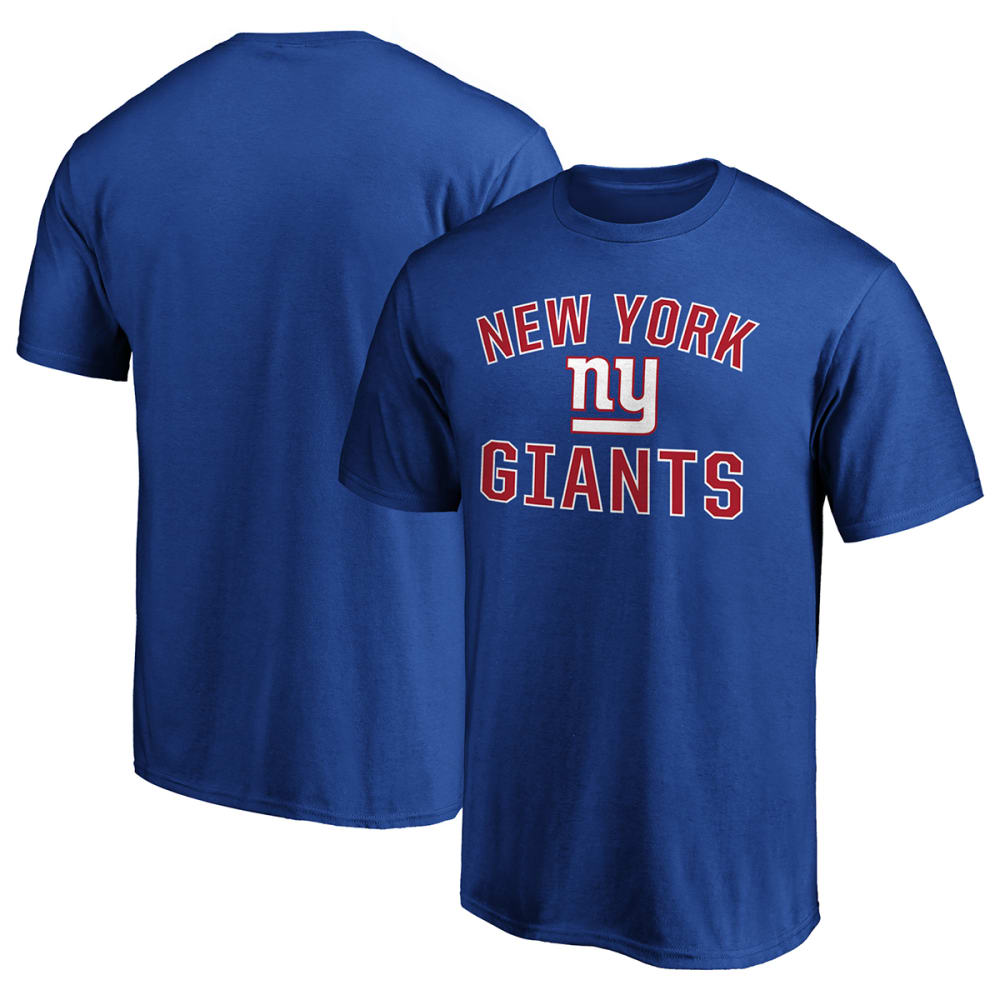 NEW YORK GIANTS Men's Short-Sleeve Victory Arch Tee M
