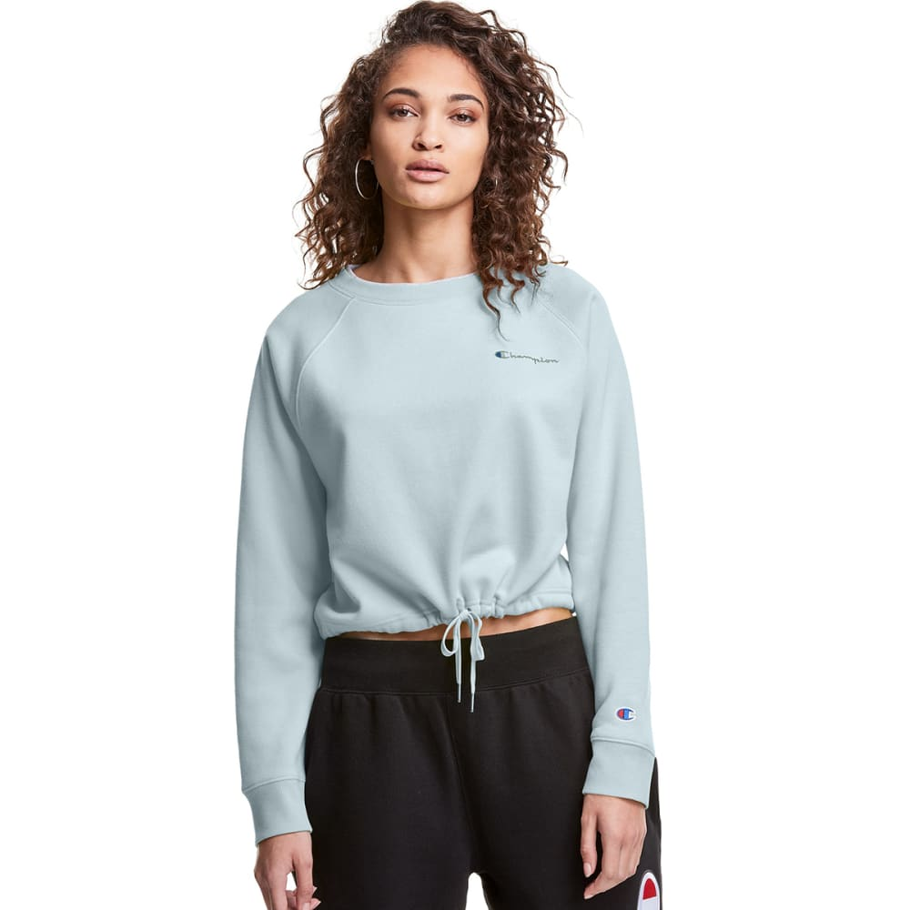 CHAMPION Women's Campus Fleece Cropped Crew M