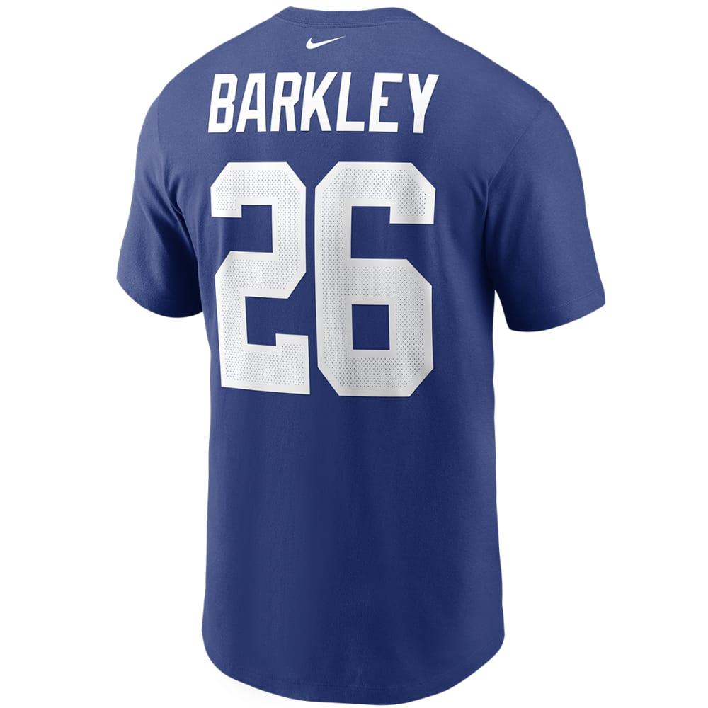 NEW YORK GIANTS Men's Nike Saquon Barkley Name & Number Tee M