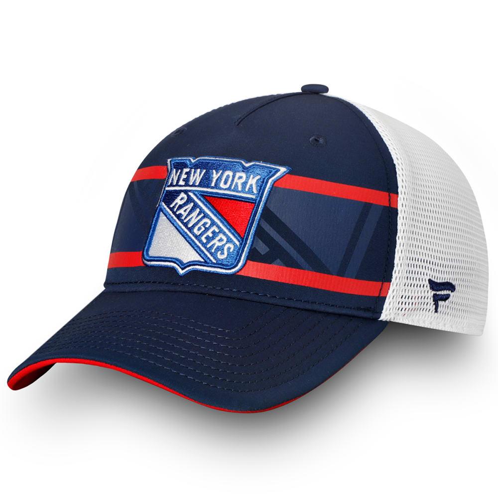 NEW YORK RANGERS Men's Adjustable Snapback Trucker Cap ONE SIZE