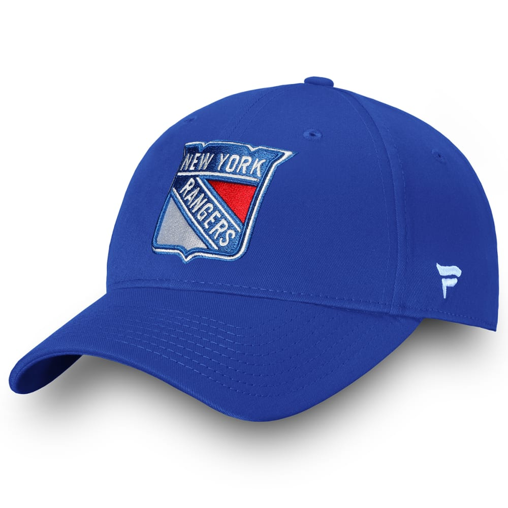 NEW YORK RANGERS Men's Log Adjustable Hat ONE SIZE