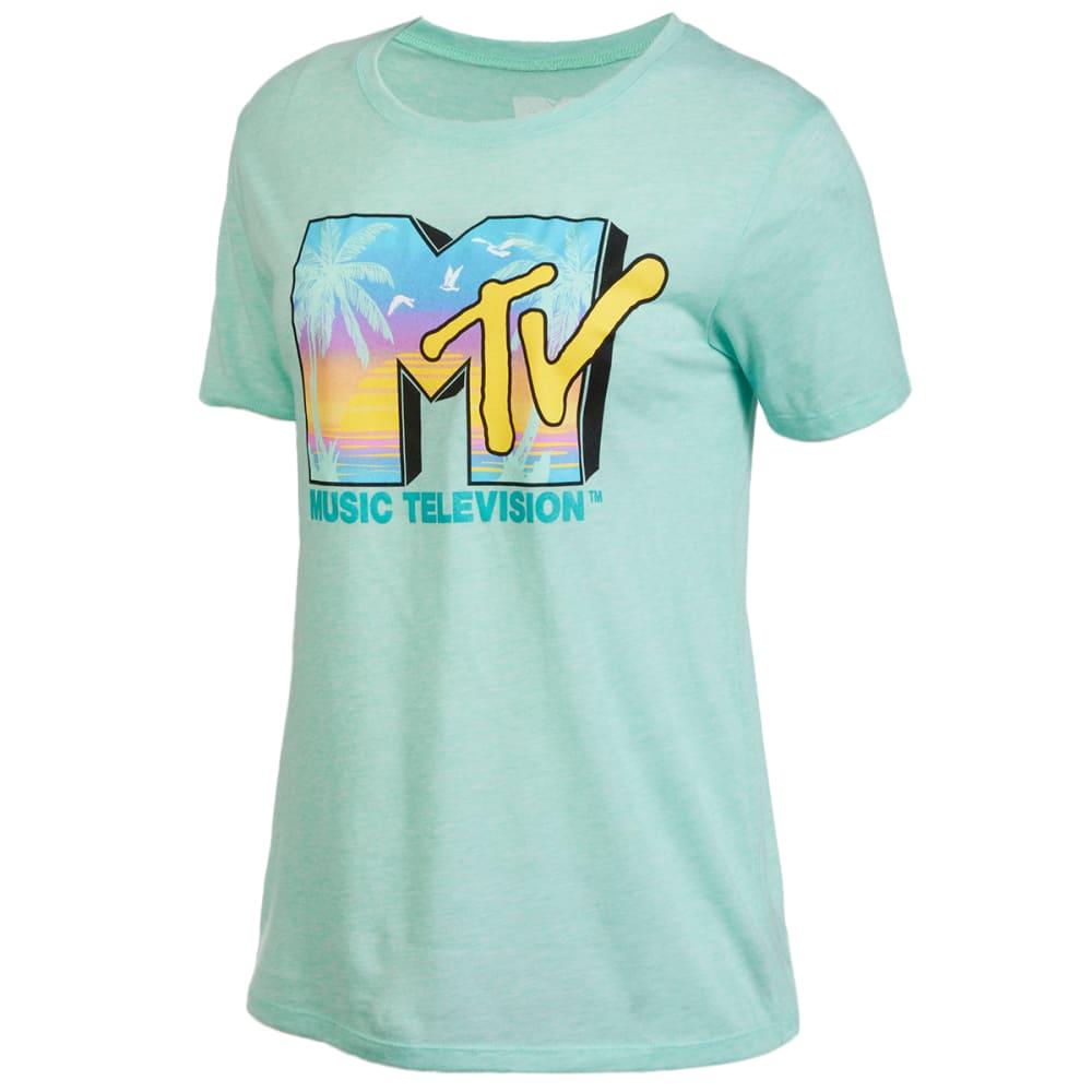 MTV Juniors' Beach Short-Sleeve Graphic Tee M