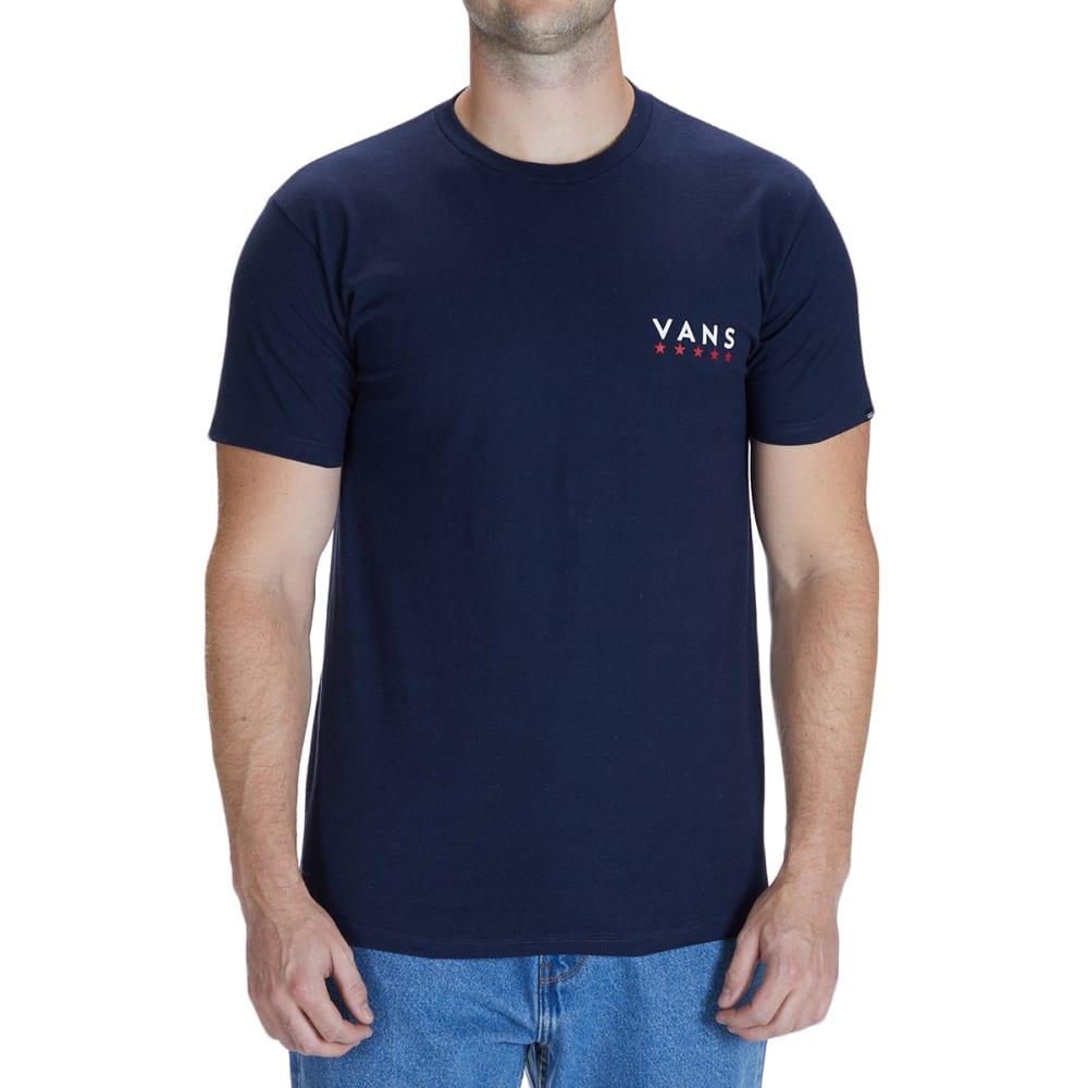 VANS Men's Victory Stars Short-Sleeve Tee XS