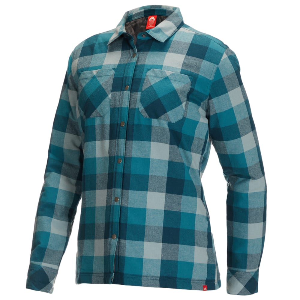 EMS Women's Timber Lined Flannel Shirt S