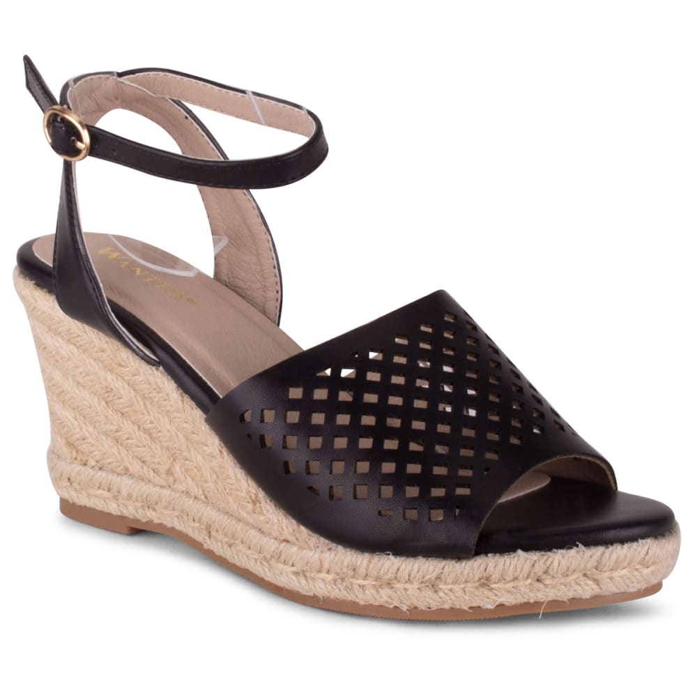 WANTED SHOES Duchess Wedge Sandal 8.5