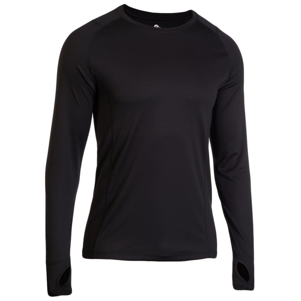 EMS Men's Medium Weight Synthetic Base Layer Crew Top S