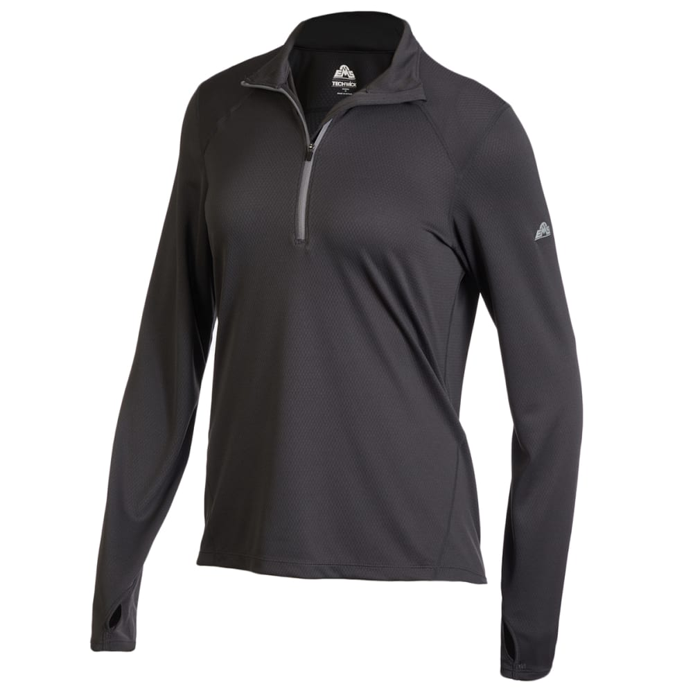 EMS Women's Medium Weight Synthetic Base Layer 1/2-Zip Pullover S