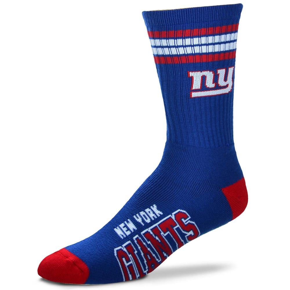 NEW YORK GIANTS For Bare Feet Deuce Socks L