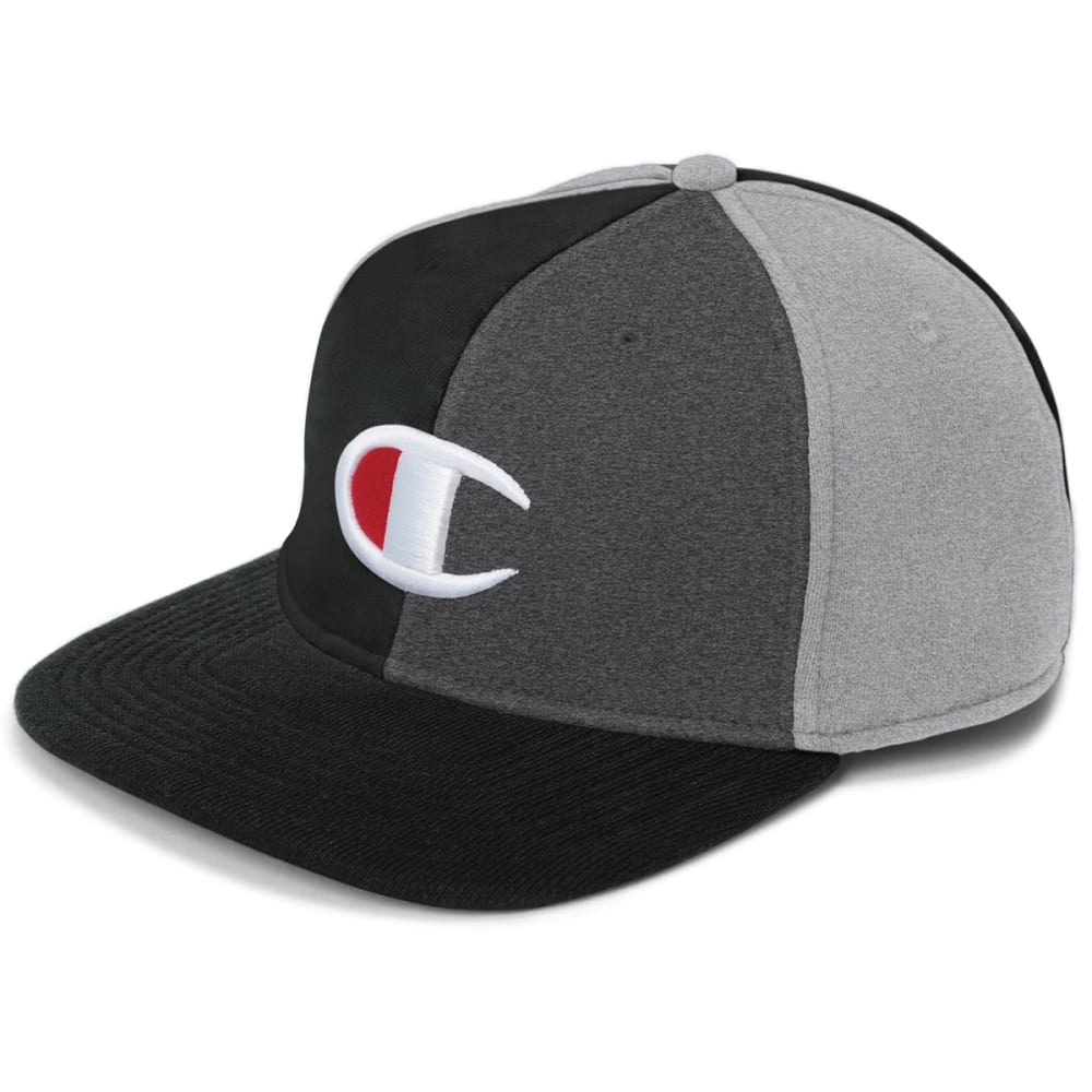 CHAMPION Men's Reverse Weave Colorblock Baseball Hat NO SIZE