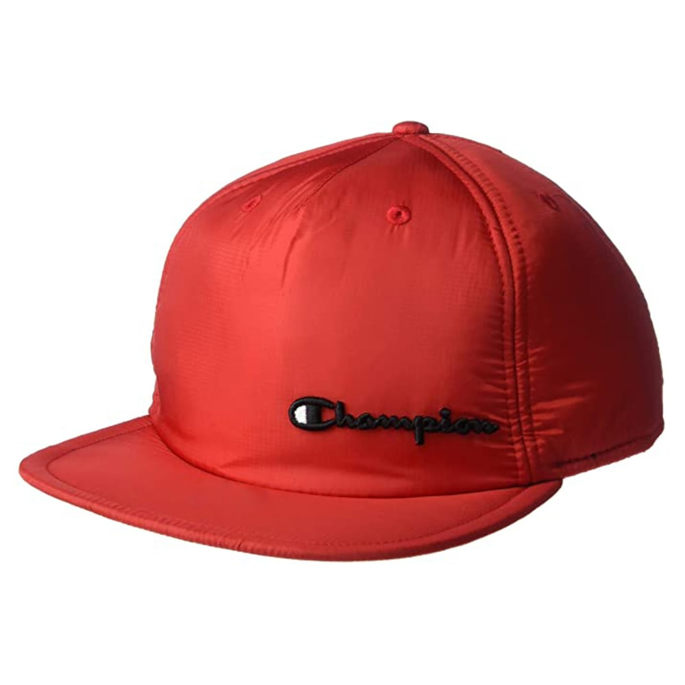 CHAMPION Men's Puffer Snapback Baseball Cap NO SIZE