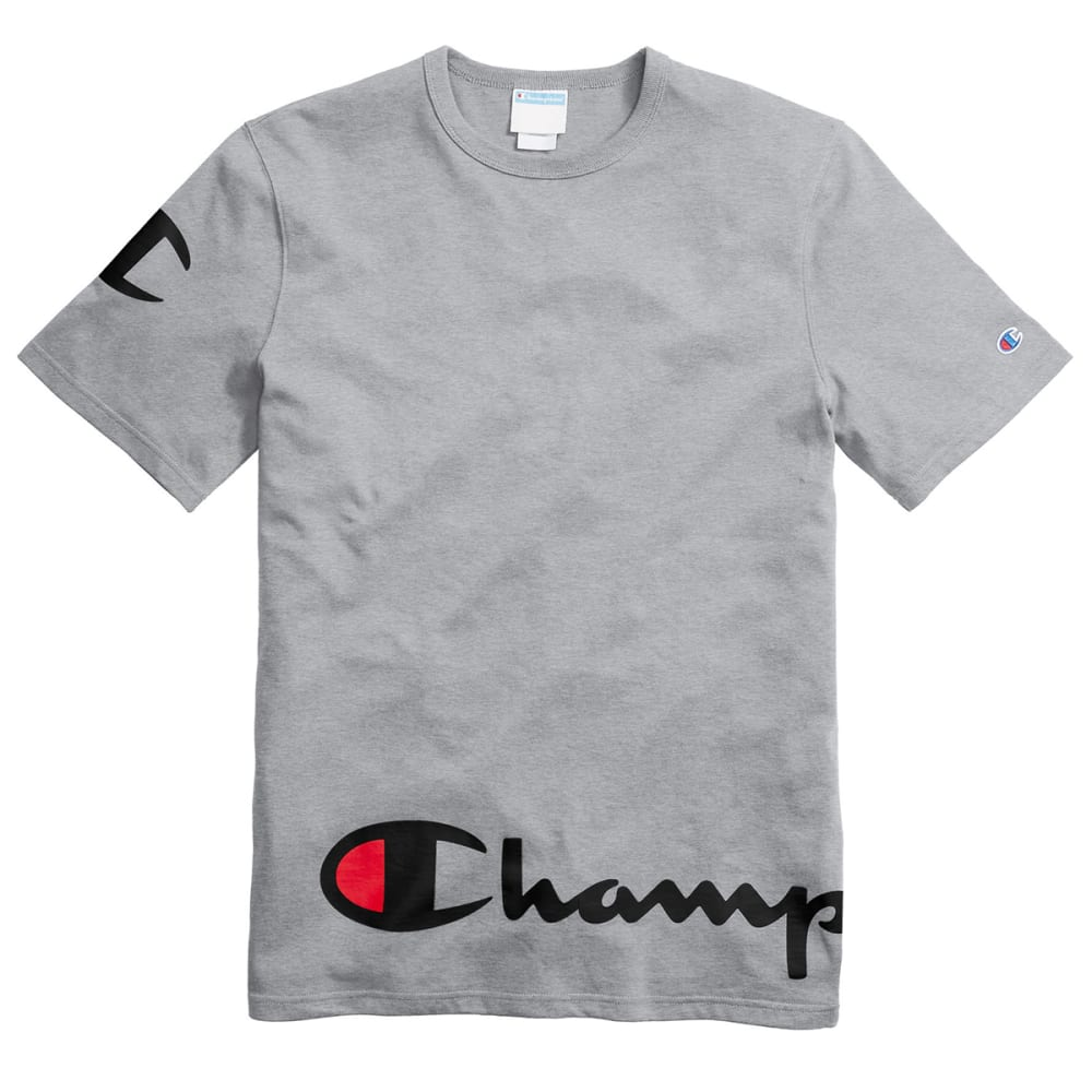 CHAMPION Men's Heritage Scripted Short-Sleeve Tee L