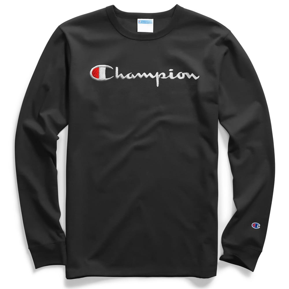 CHAMPION Men's Heritage Long-Sleeve Tee XS