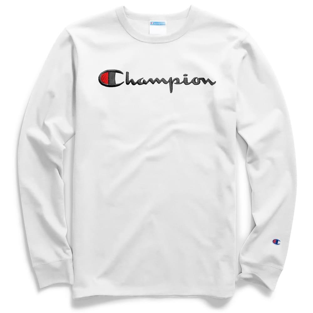 CHAMPION Men's Heritage Long-Sleeve Tee XS