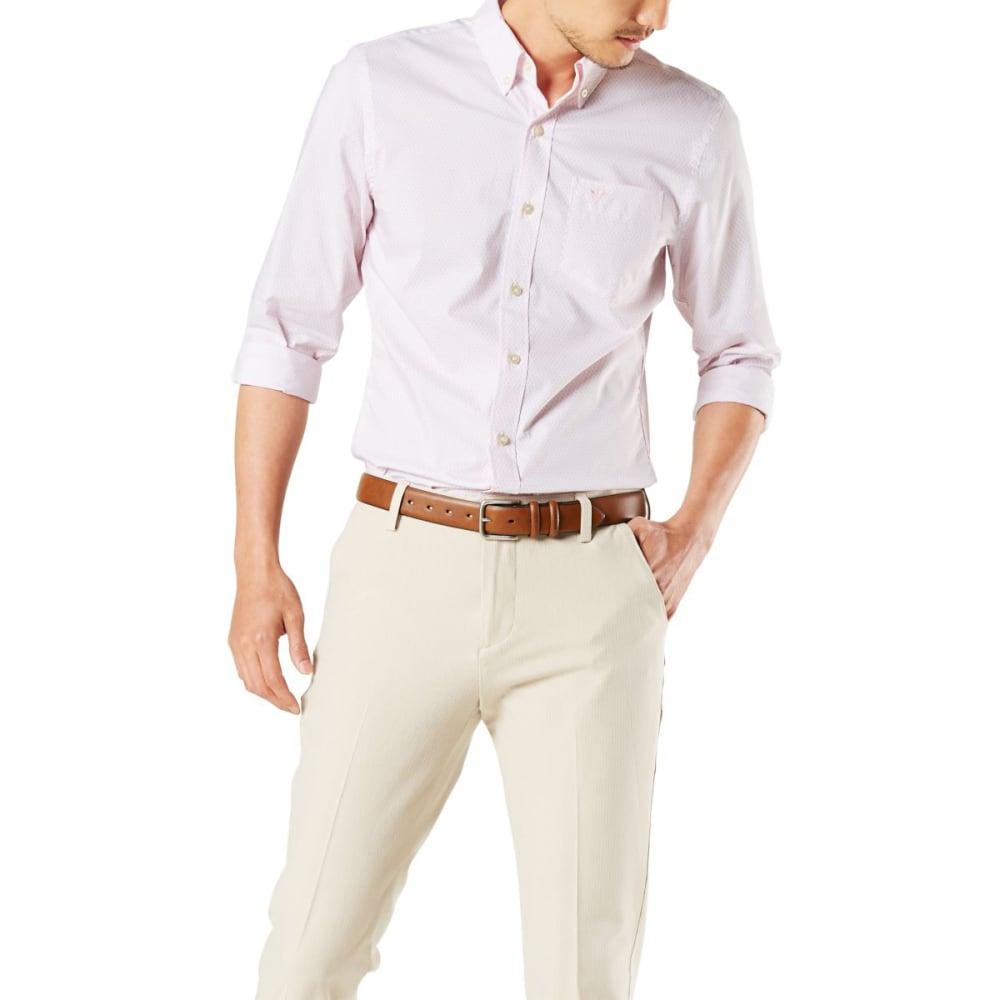 DOCKERS Men's Signature Comfort Flex Classic Fit Shirt 2XL