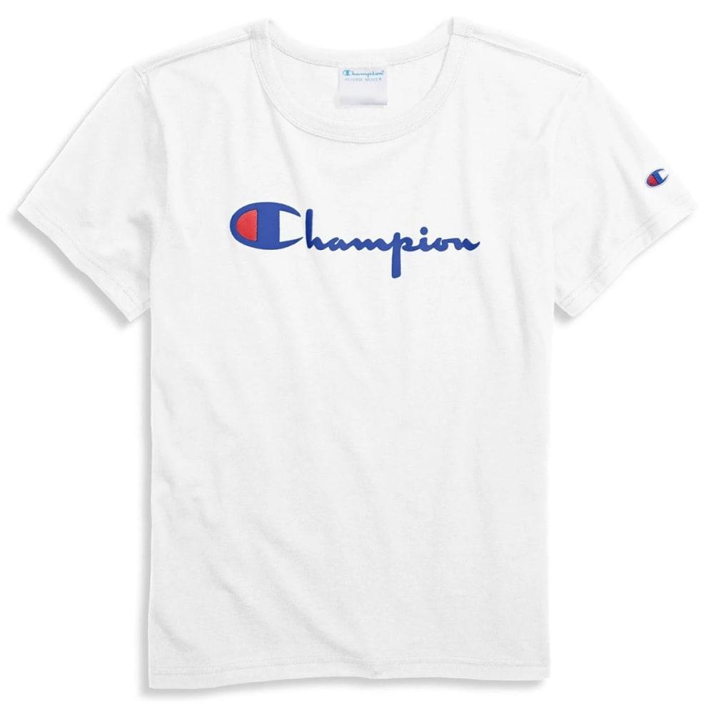 CHAMPION Women's Original Short-Sleeve Graphic Tee XS