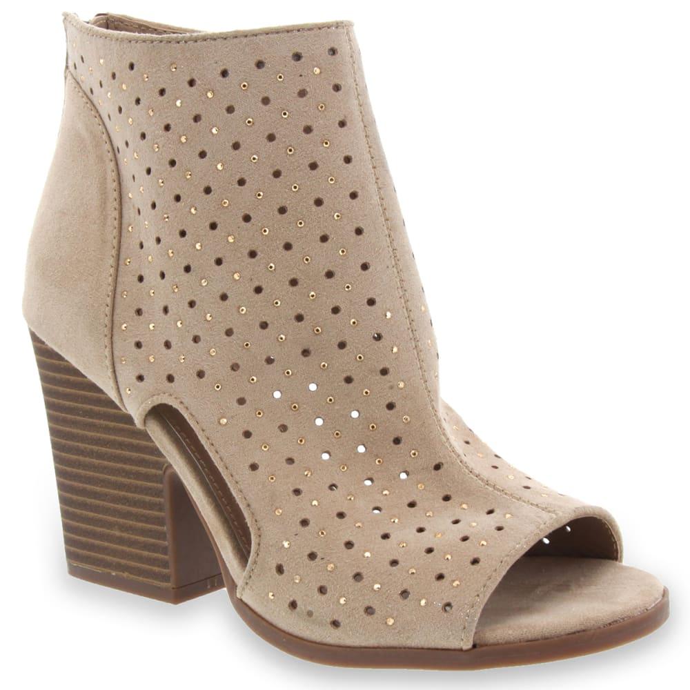 RAMPAGE Women's Vionna Open Toe Bootie Sandals 6
