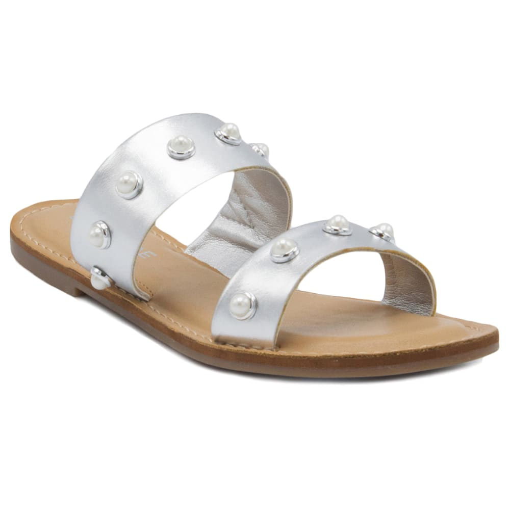 RAMPAGE Women's Mindy Double Band Slide Sandals 6