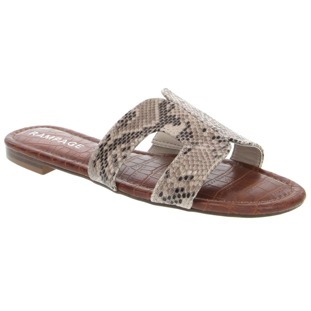 RAMPAGE Women's Ophelia H-Band Slide Sandals 9.5