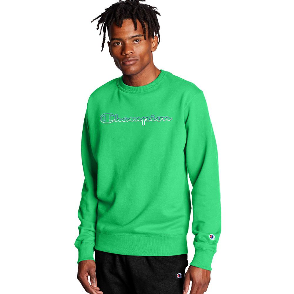 CHAMPION Men's Powerblend Crew Sweatshirt S