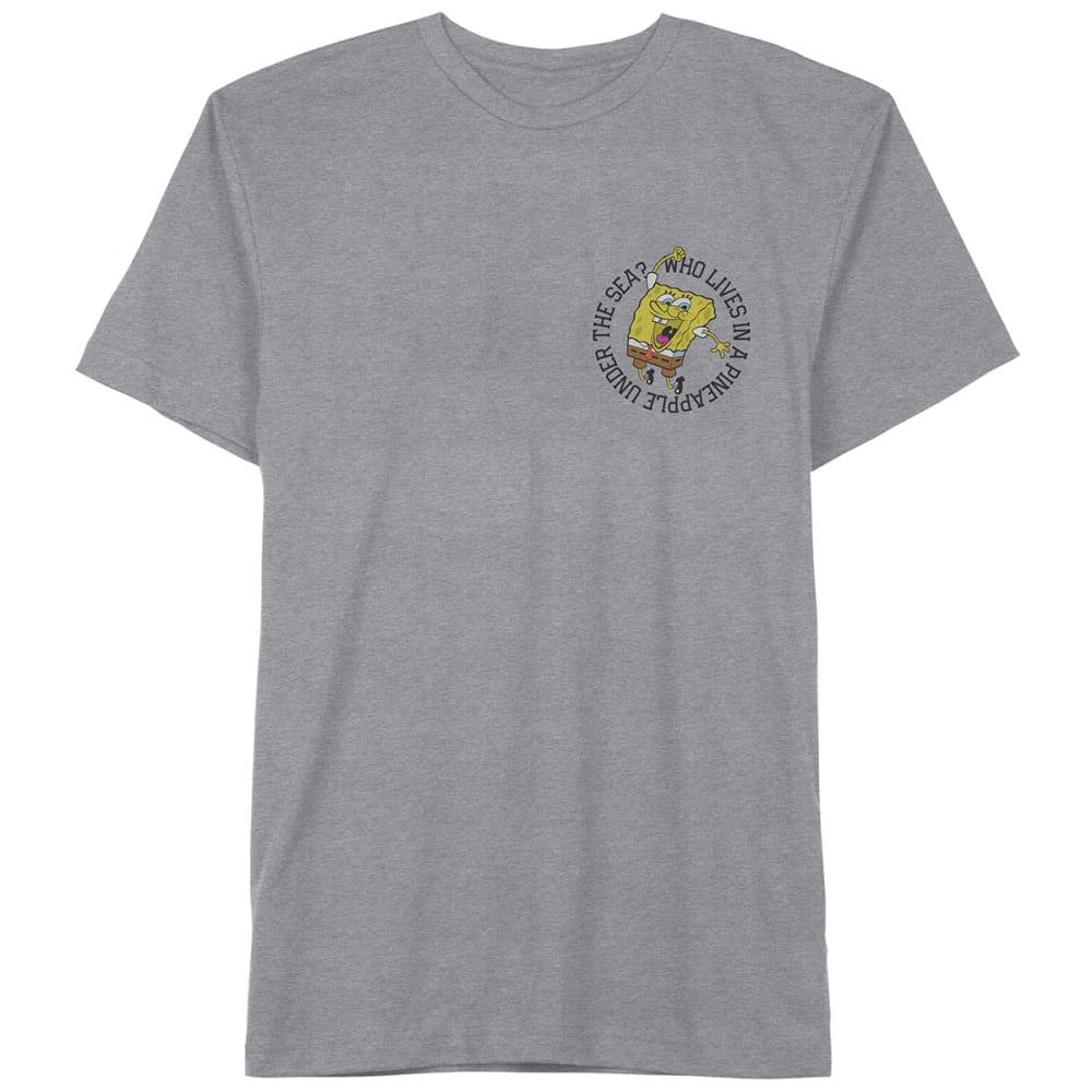 SPONGEBOB Men's Short Sleeve Graphic Tee XL