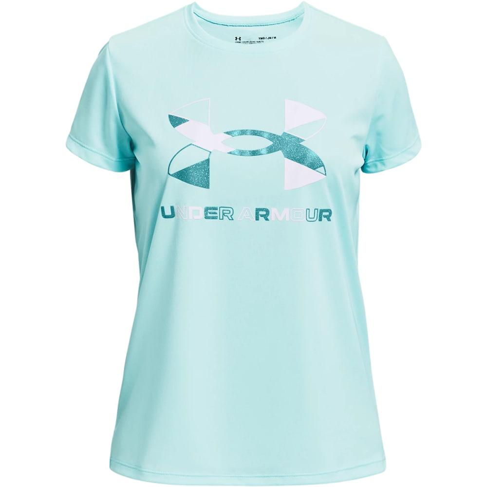 UNDER ARMOUR Girls' UA Tech Short Sleeve Graphic Tee S