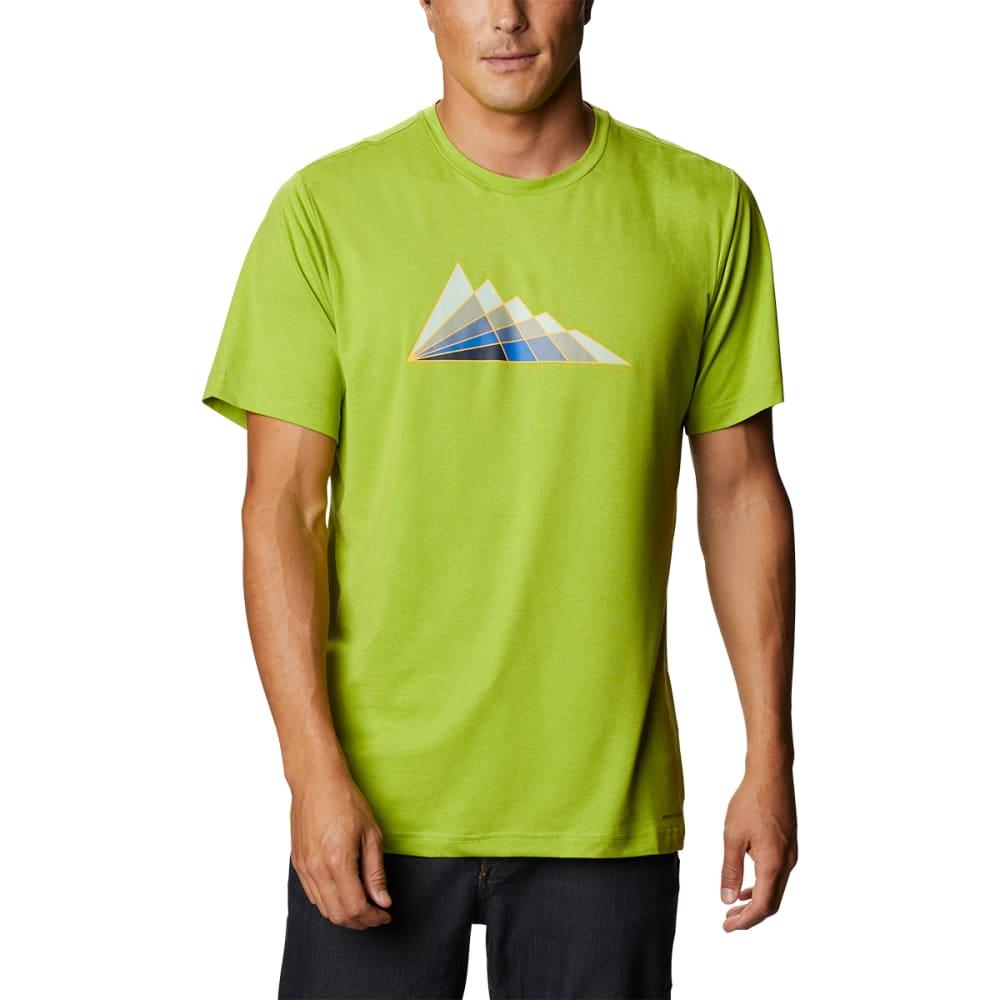 COLUMBIA Men's Tech Trail Short Sleeve Graphic Tee M