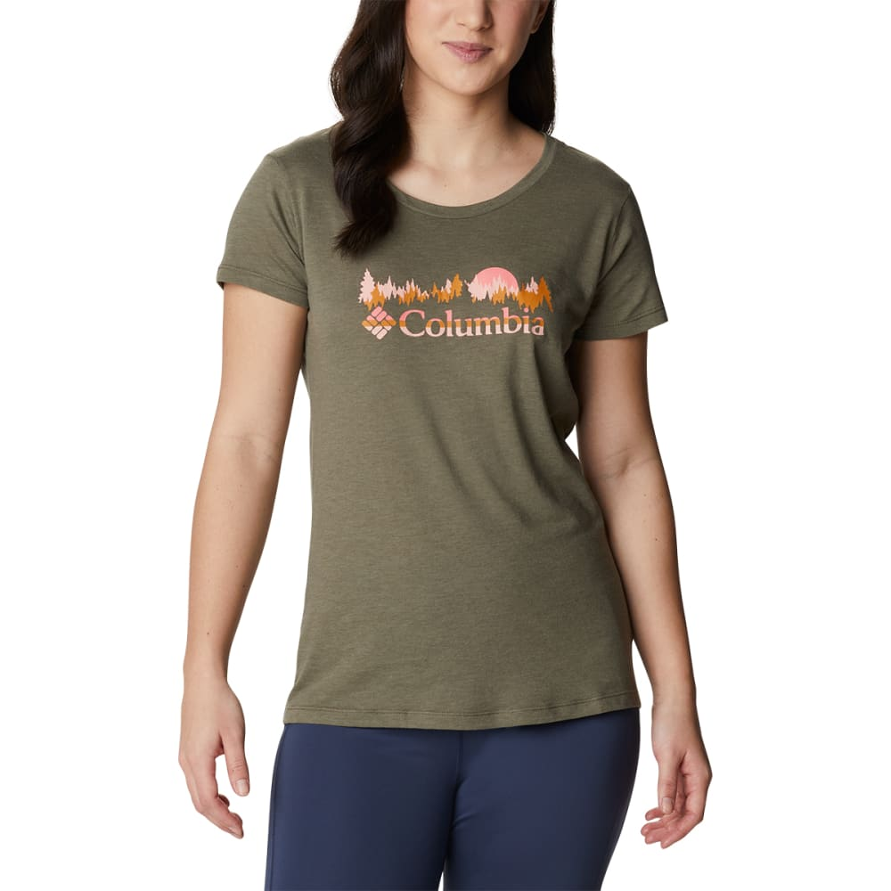 COLUMBIA Women's Daisy Days Short Sleeve Graphic Tee S